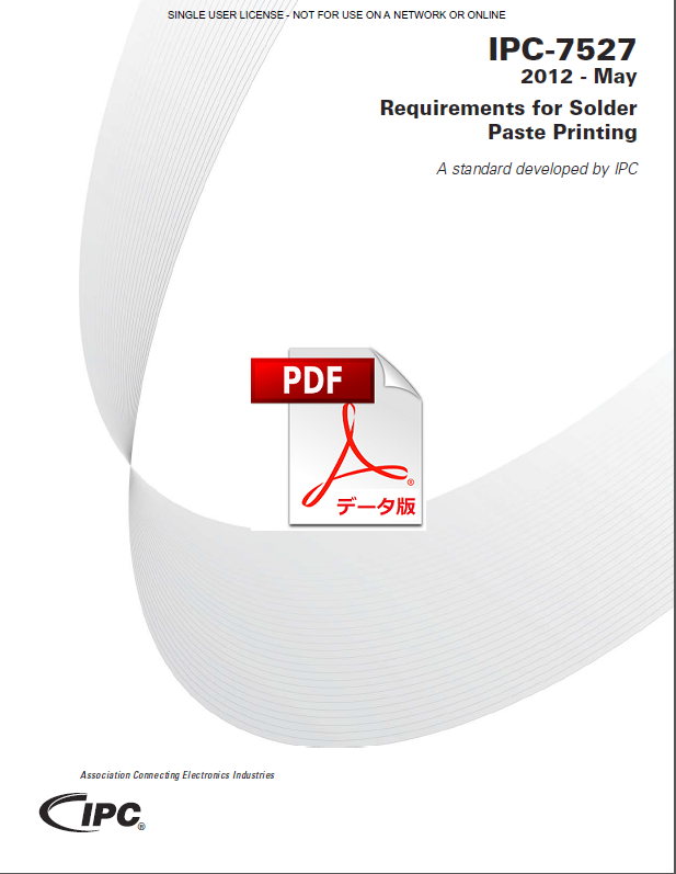 IPC-7527: Requirements for Solder Paste Printing